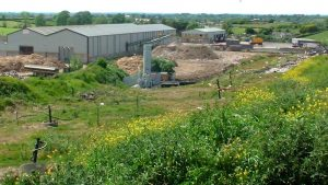 DSEAR risk assessment compliance for landfill near buildings