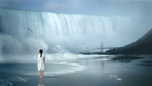 Image poses the question of whether a DSEAR Risk Assessment would be required for a tidal wave?